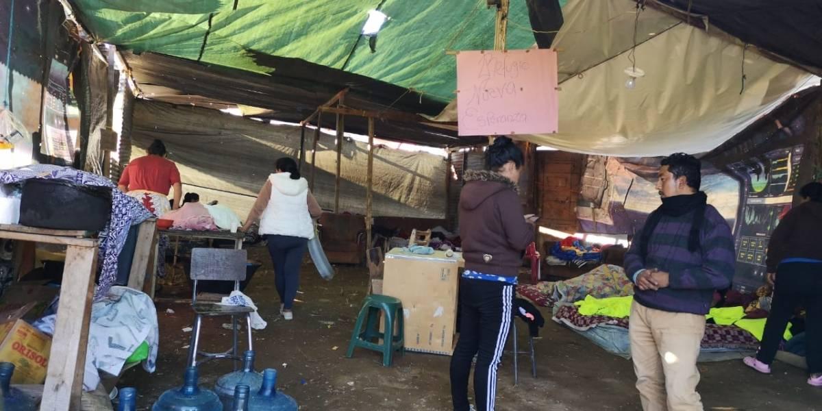 Damnificados de Ciudad Peronia piden apoyo de las autoridades