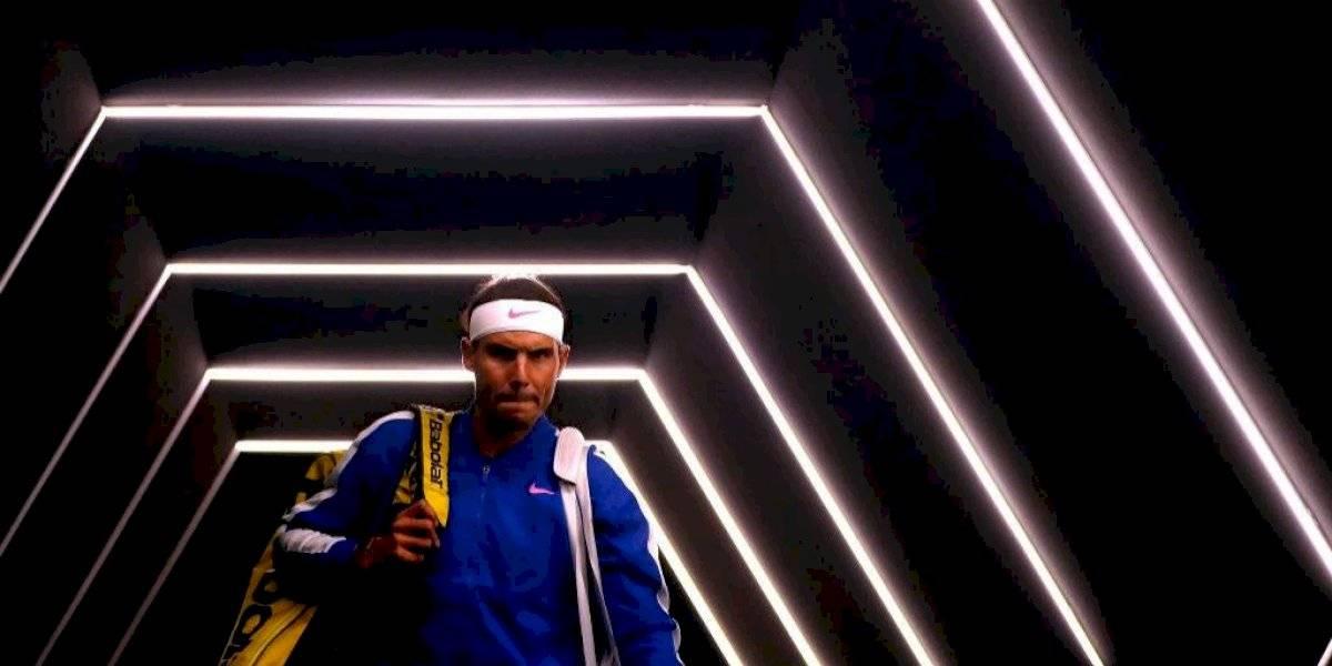 Rafael Nadal intentará jugar las Finales de la ATP pese a su lesión