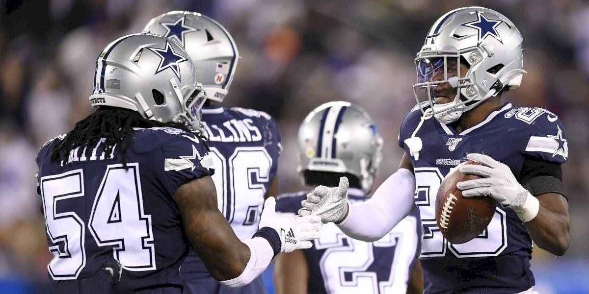Cowboys hila su quinta victoria al vencer a Giants