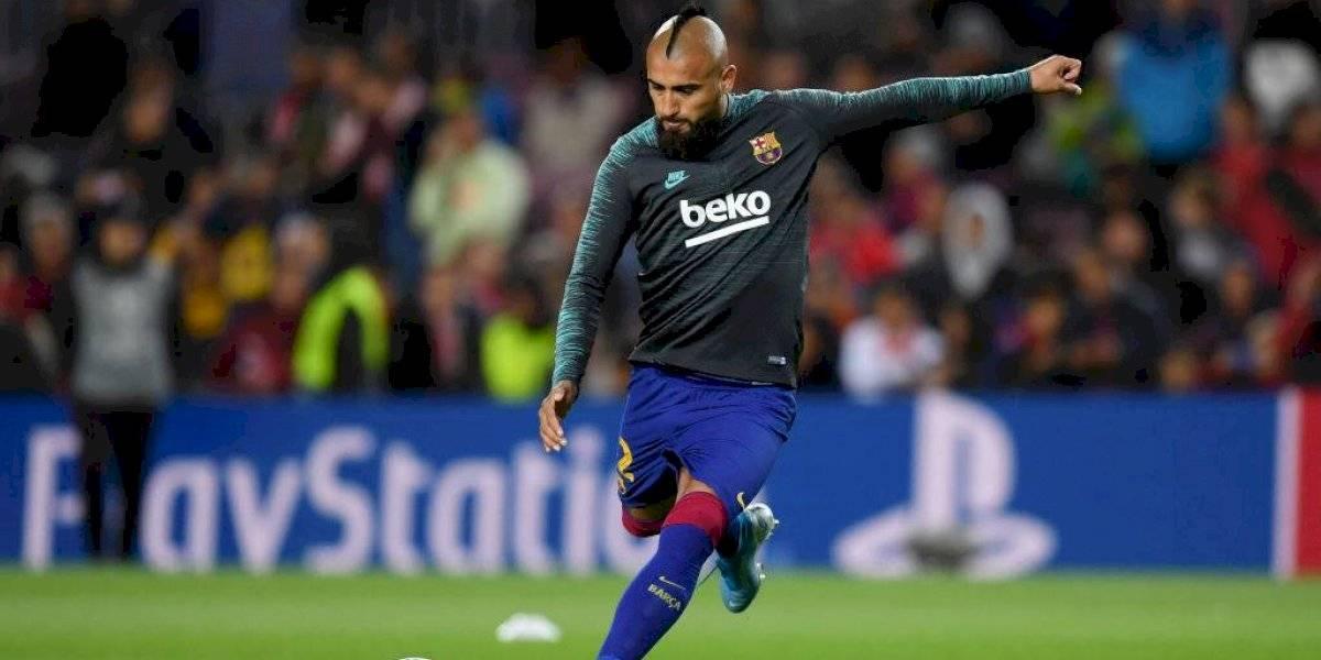 La jugada de Arturo Vidal en la Champions que está dando la vuelta al mundo