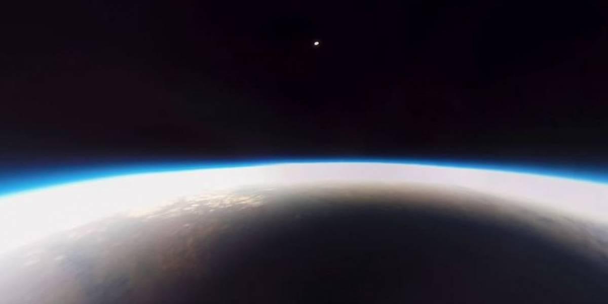 """Un video muestra el """"Gran Eclipse Americano"""" y desde un globo meteorológico"""