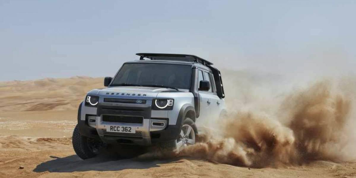 Personaliza tu propio Land Rover Defender en realidad aumentada