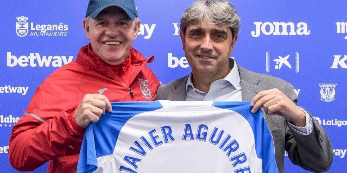 Javier Aguirre es presentado como DT del Leganés