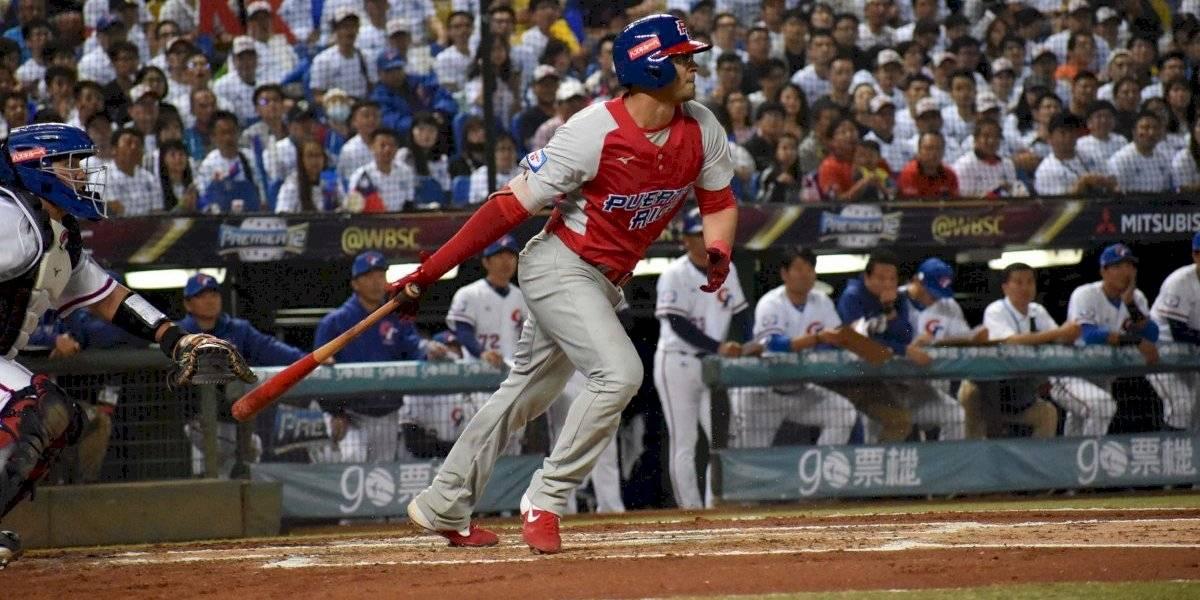 Cae Puerto Rico ante China Taipéi en su debut en el Premier 12