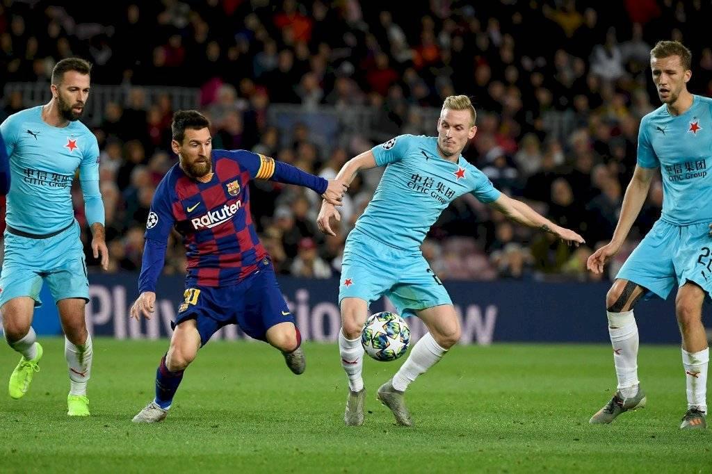 Jugada de Messi causa controversia no la pasó a Griezmann