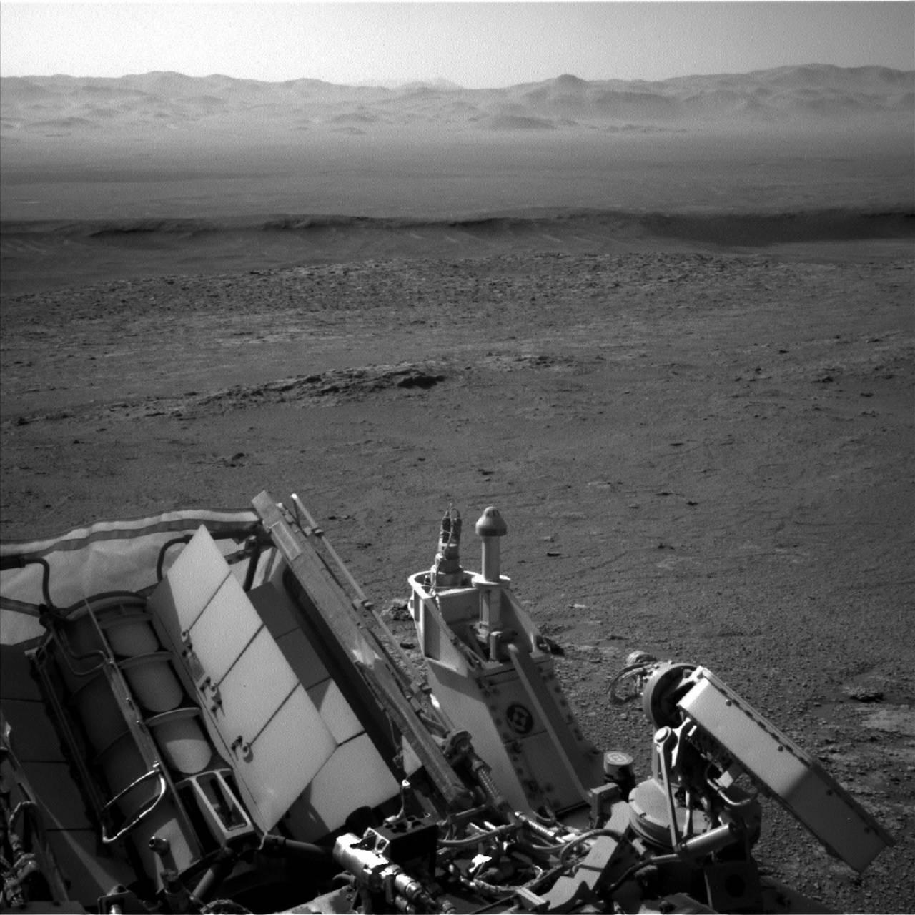 Este es el paisaje más desolador de Marte que retrató el Curiosity