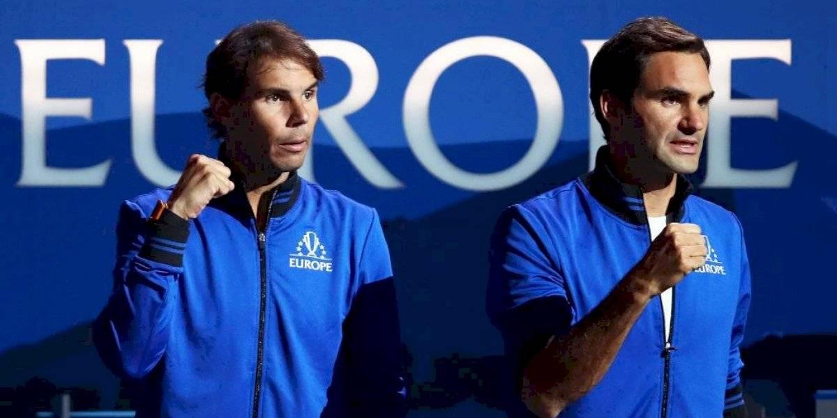 Rafael Nadal evita a Roger Federer en las Finales de la ATP