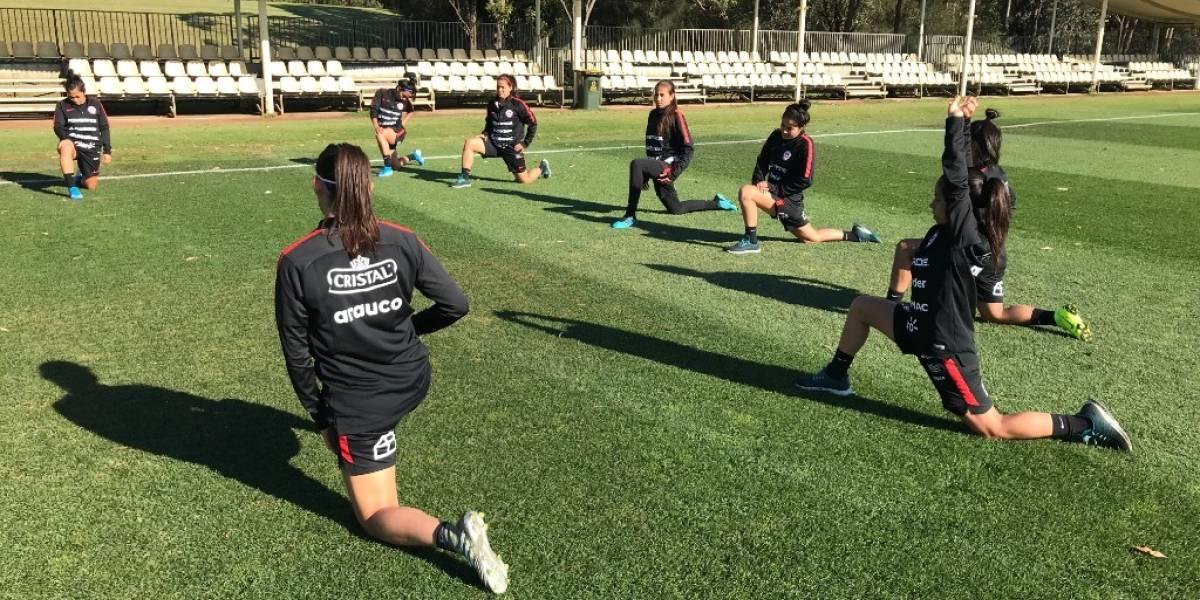 ¿Cuándo, a qué hora y quién transmite los amistosos de la Roja femenina ante Australia?