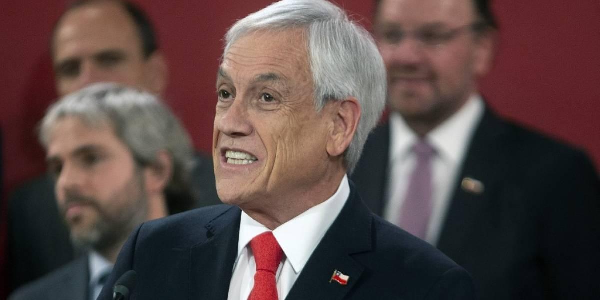Piñera descarta renunciar ante protestas en Chile