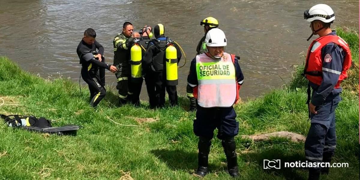 Encuentran sin vida al niño siete años que cayó al río Bogotá