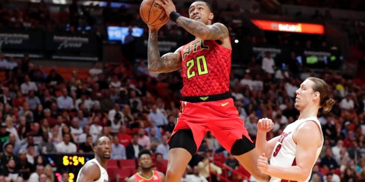 Jugador de los Hawks es suspendido 25 juegos por dopaje