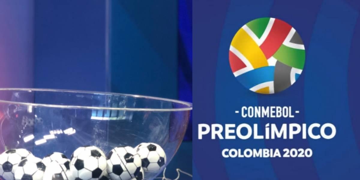 Colombia comparte grupo con Argentina en el Preolímpico