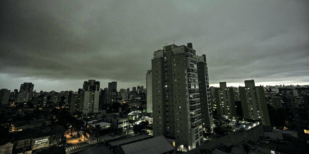 São Paulo deve passar por tempestade nesta quarta-feira