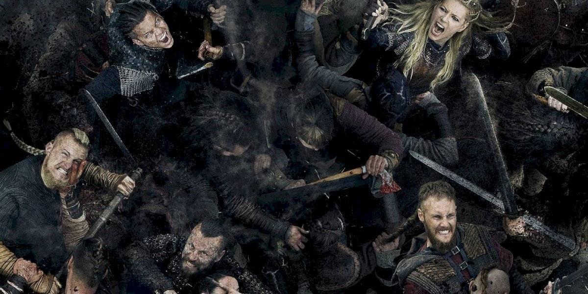 ¡Gigantes! Esta la estatura de los protagonistas de 'Vikingos'