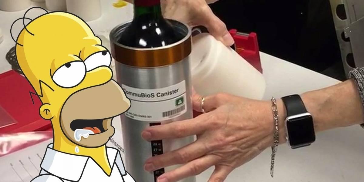 Sommelier sideral 12 botellas de vino llegan a la Estación Espacial Internacional