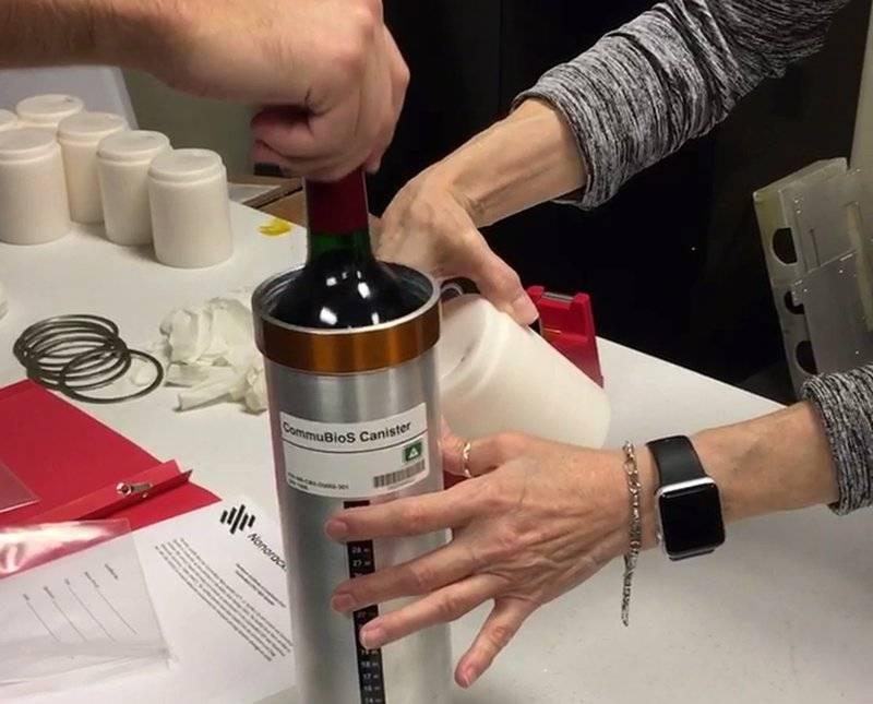 Sommelier sideral: 12 botellas de vino llegan a la Estación Espacial Internacional