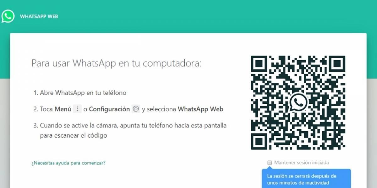 Este es el servicio de WhatsApp que utilizaría tu pareja para ver tus mensajes