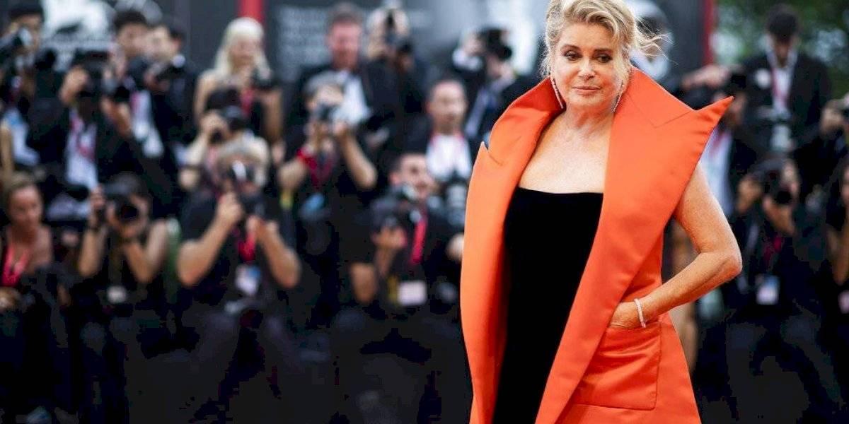 Actriz Catherine Deneuve sufre derrame cerebral