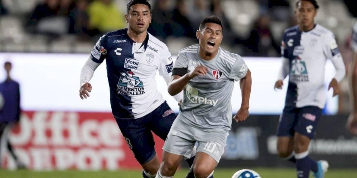 Atlas empata en casa de Pachuca y avanza en la Copa MX