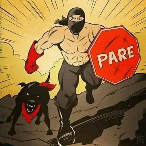 Negro Matapacos Pareman