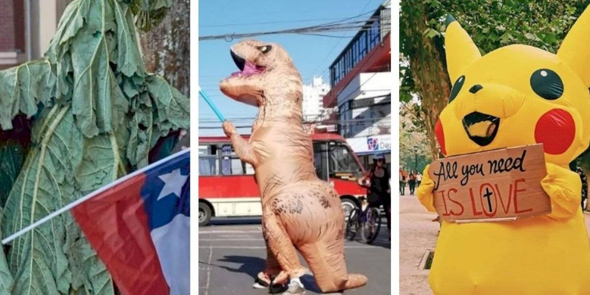 """Los """"Avengers chilenos"""": el grupo de manifestantes que se ha transformado en el """"rostro"""" de las marchas tras el estallido social"""