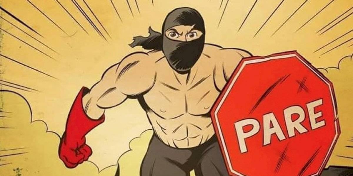 """Creador de """"Guardianes del Sur"""" anuncia su nueva historieta: será un cómic online y gratuito sobre """"PareMan"""""""