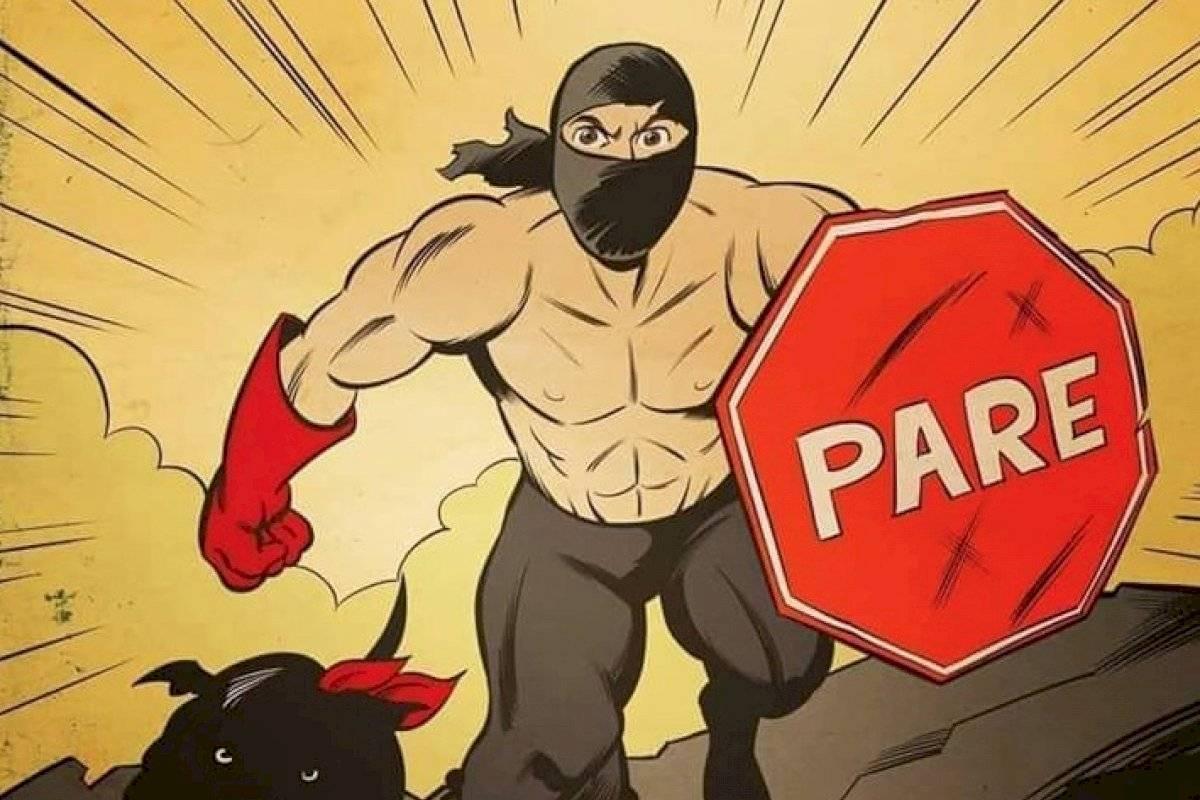 """""""PareMan"""": el nuevo símbolo de la lucha del pueblo que todos aman tanto como al """"Negro Matapacos"""" y """"Baila Pikachu"""" - Publimetro Chile"""