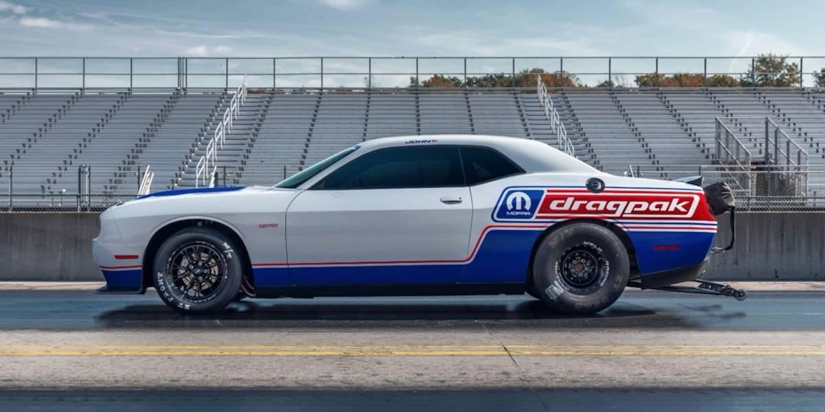Mopar y Dodge presentan el nuevo Challenger Drag Pak 2020