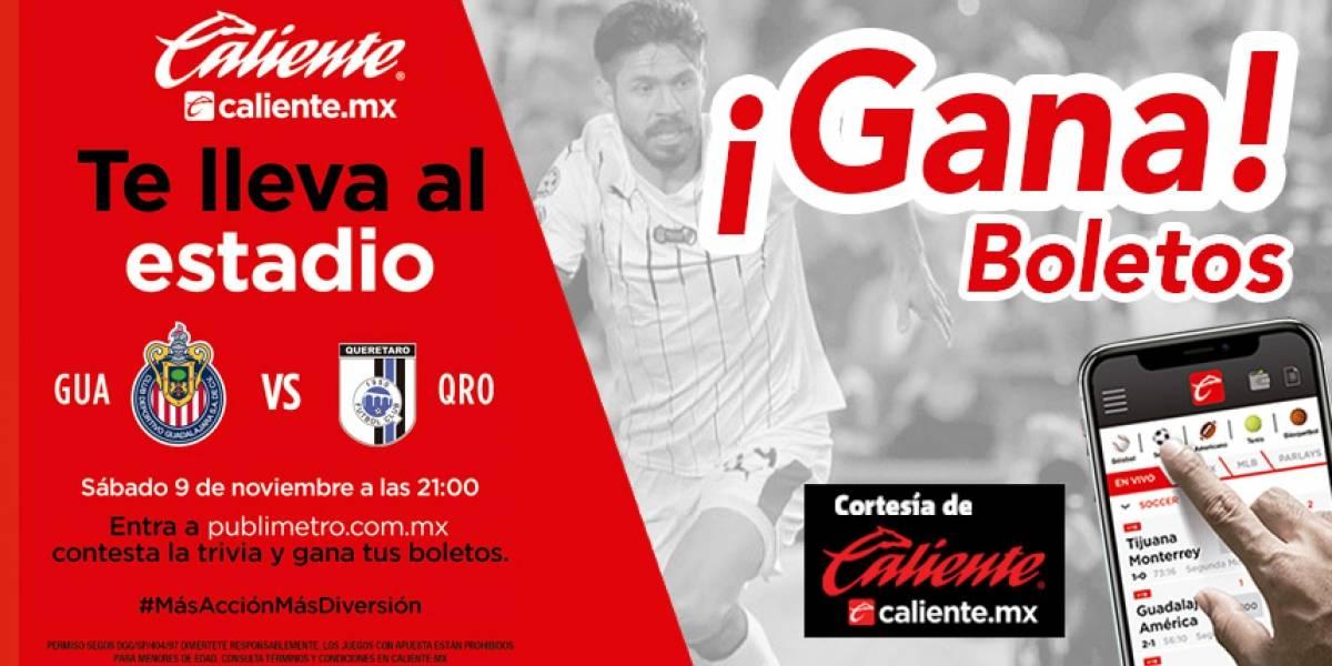 ¡Gana! pase doble para el partido Chivas vs Querétaro