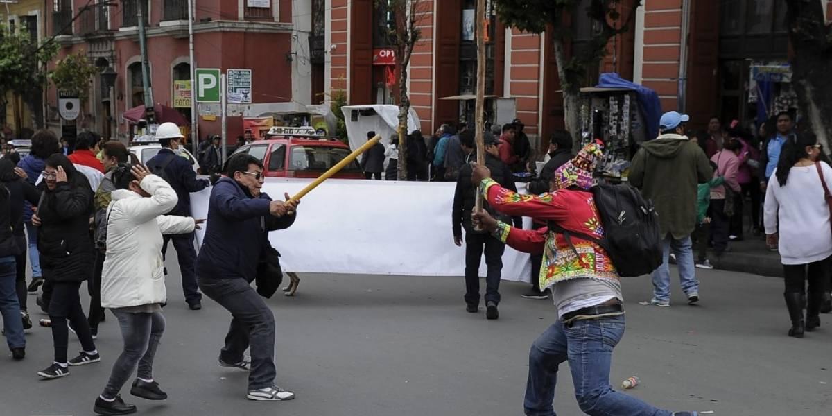 Enfrentamientos entre partidarios y detractores de Evo Morales en Bolivia