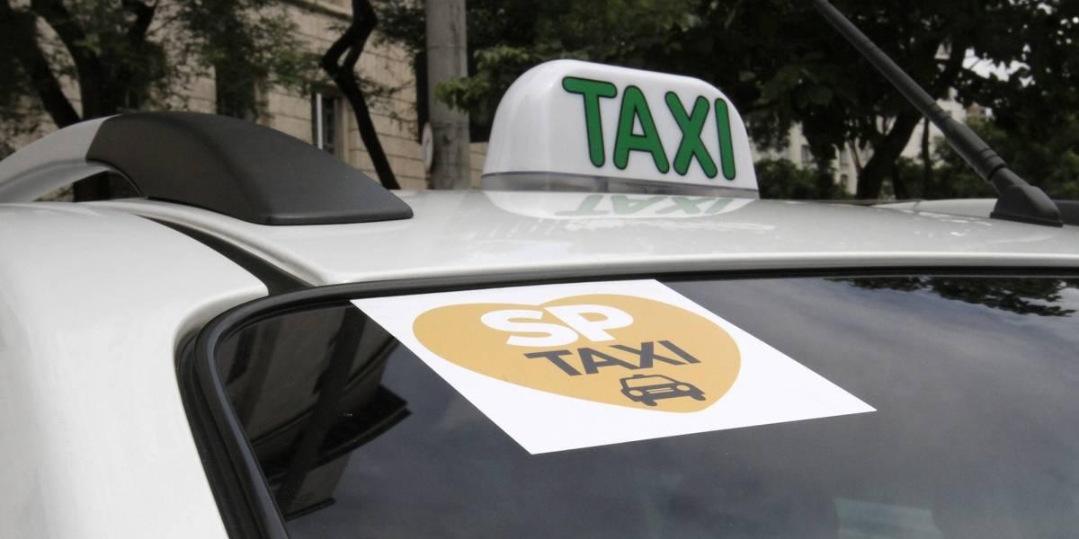 Taxistas relatam queda de 90% do faturamento em São Paulo