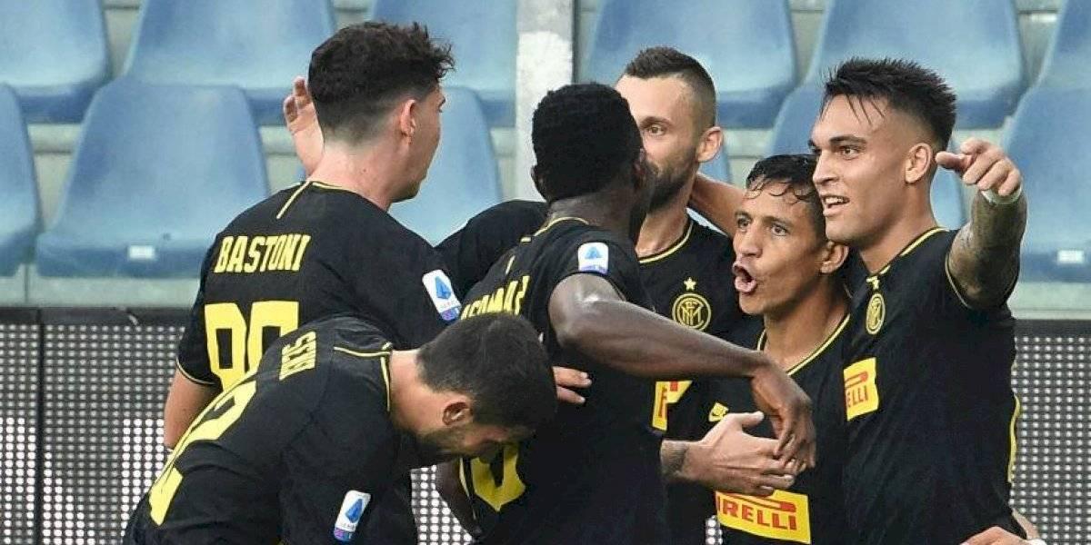 """Lautaro Martínez: """"Ojalá Alexis se recupere pronto porque es un jugador interesante y nos puede dar una mano"""""""