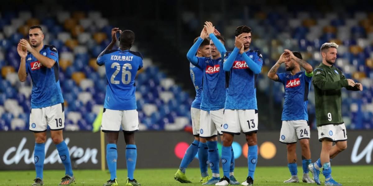Futbolistas del Napoli se rebelaron ante su directiva y realizan un motín tras empate en la Champions
