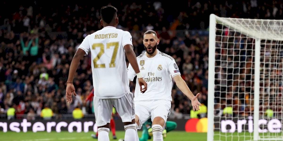 Rodrygo despierta al Real Madrid en Champions League