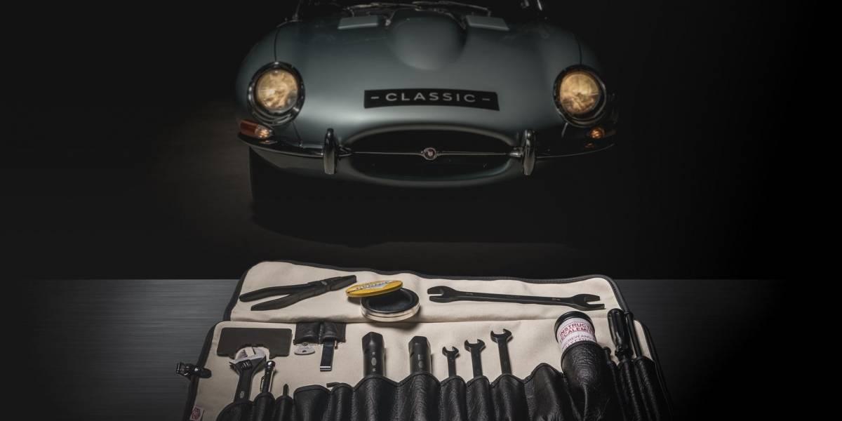 Jaguar Classic reintroduce el kit de herramientas del E-Type