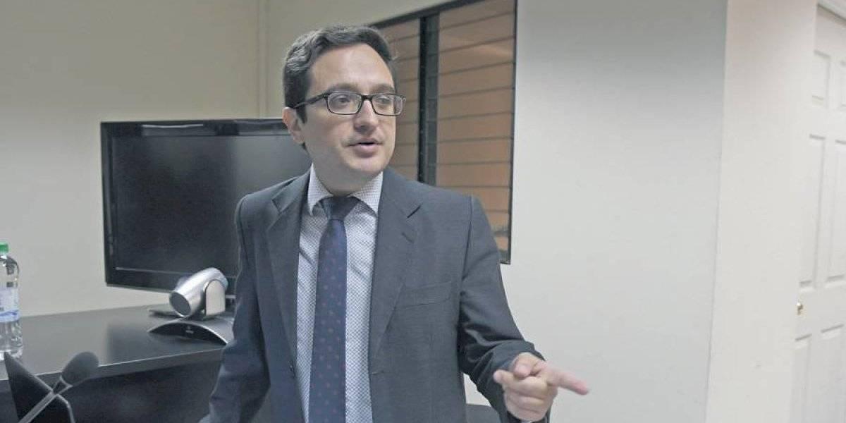 """Juan Francisco Sandoval: """"La salida de fiscales lleva a la pérdida de conocimiento"""""""