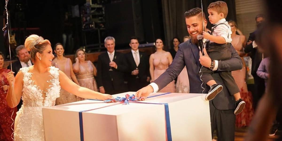 Zé Neto e Natália Toscano celebram casamento no interior de São Paulo