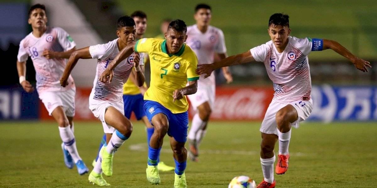 La garra no le alcanzó a Chile y como siempre se fue eliminado de un Mundial a manos de Brasil
