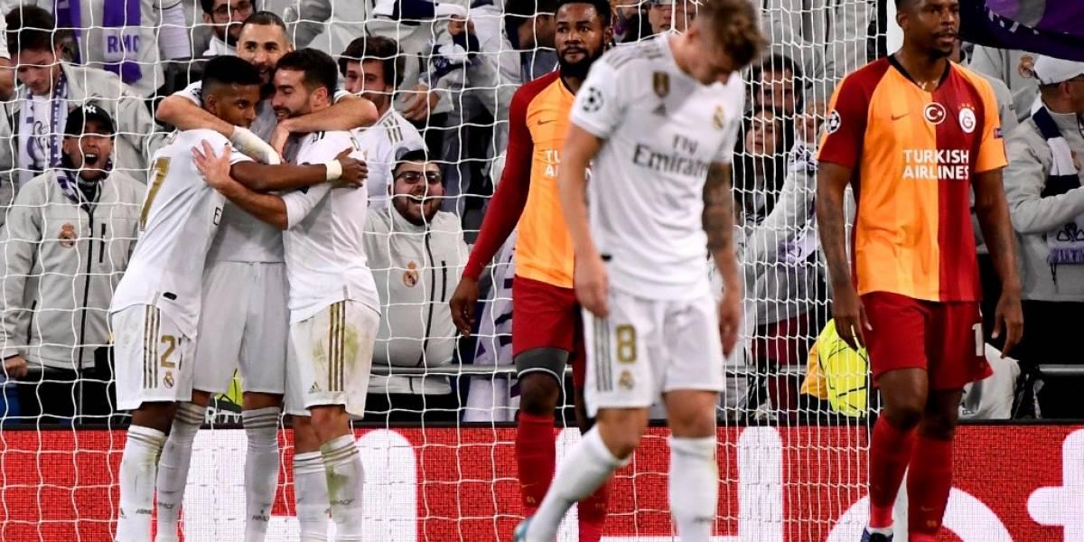 Rodrygo y Benzema las figuras en la victoria del Real Madrid ante Galatasaray