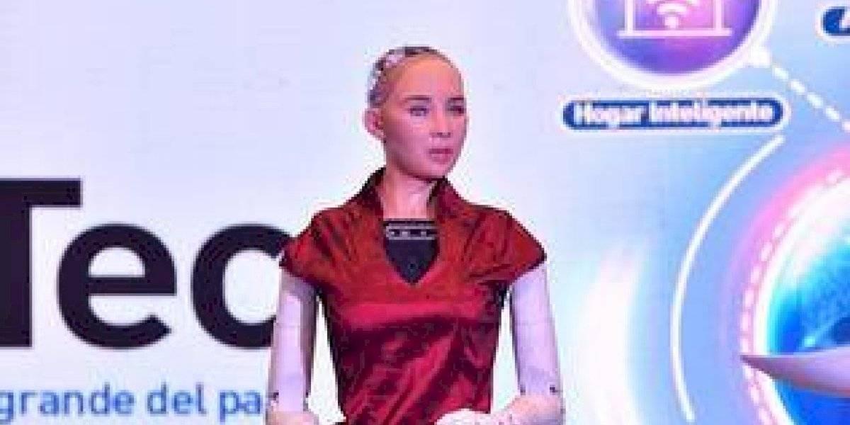 Una conversación de película con la robot Sophia