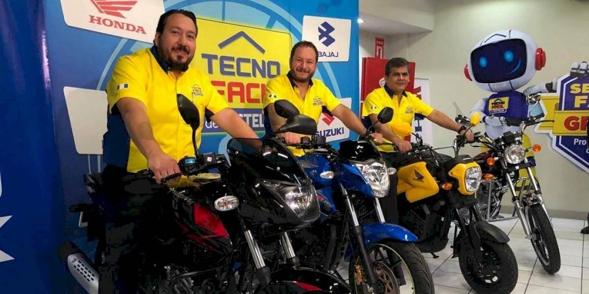 Ahora encontrarás las mejores marcas de motocicletas en tiendas Tecno Fácil