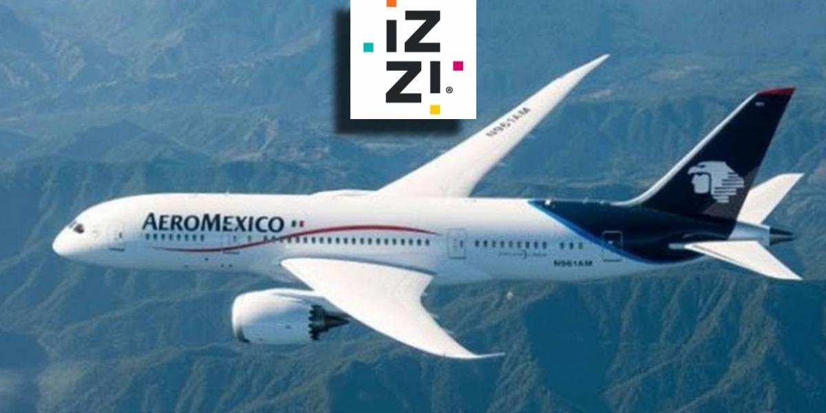 México: Los vuelos de Aeroméxico contarán con WiFi gratis gracias a IZZI