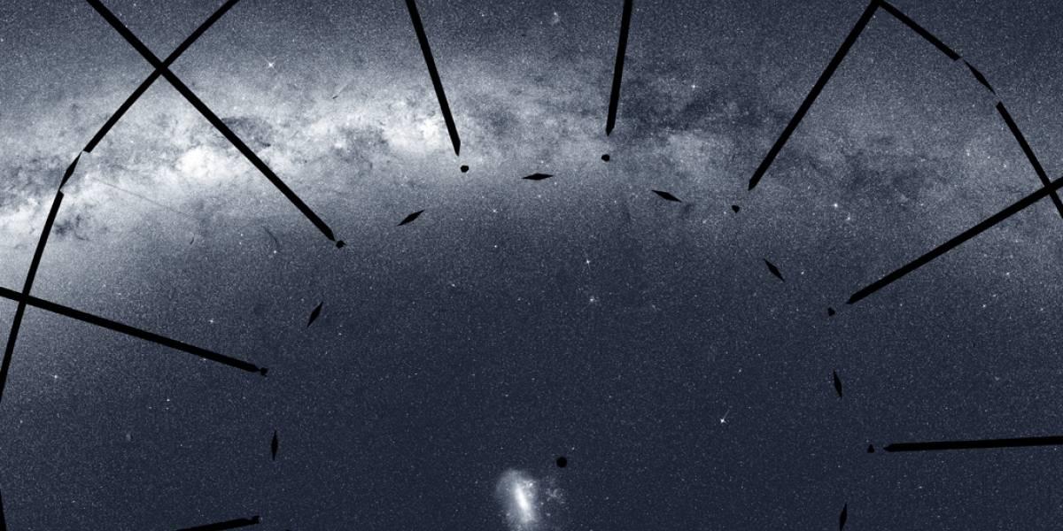 NASA divulga impressionante imagem do espaço captada pelo telescópio TESS