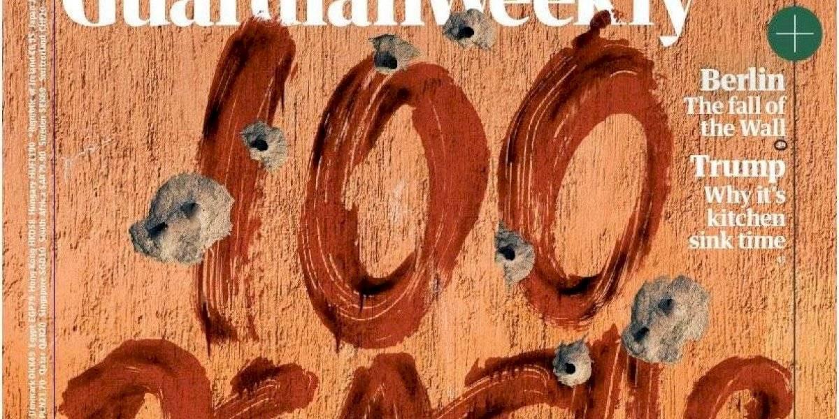 """""""100 muertes por día"""", la dura portada de """"The Guardian"""" sobre la violencia en México"""