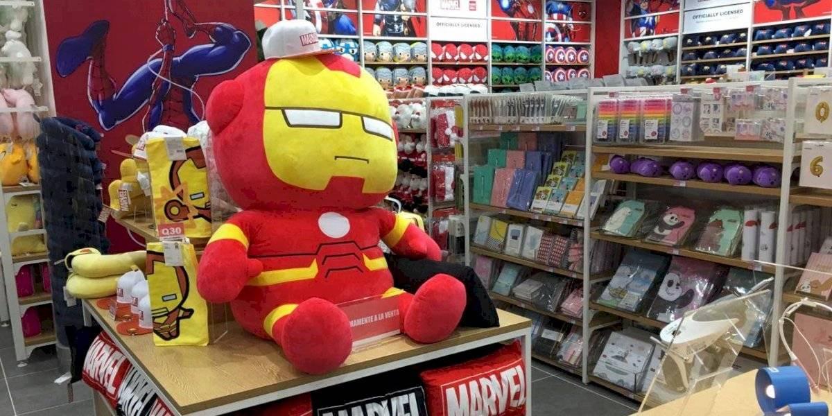 ¡Atención fans de Marvel! Miniso inaugura su primera tienda temática en el país