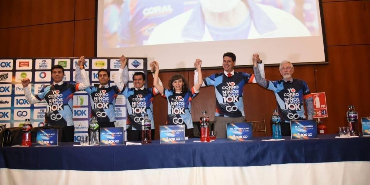 Grupo Gerardo Ortiz presenta la carrera '10K, Yo Corro por los Niños de Solca'