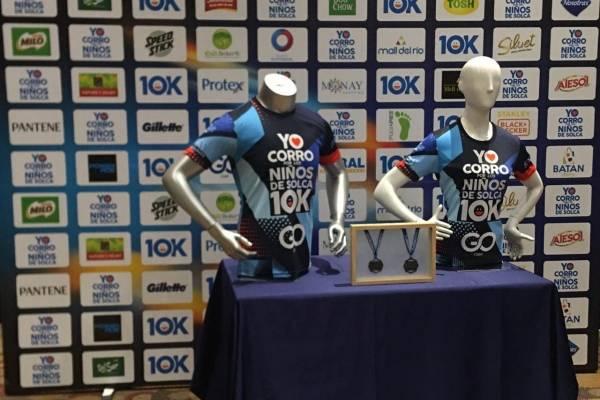 Camisetas de la carrera