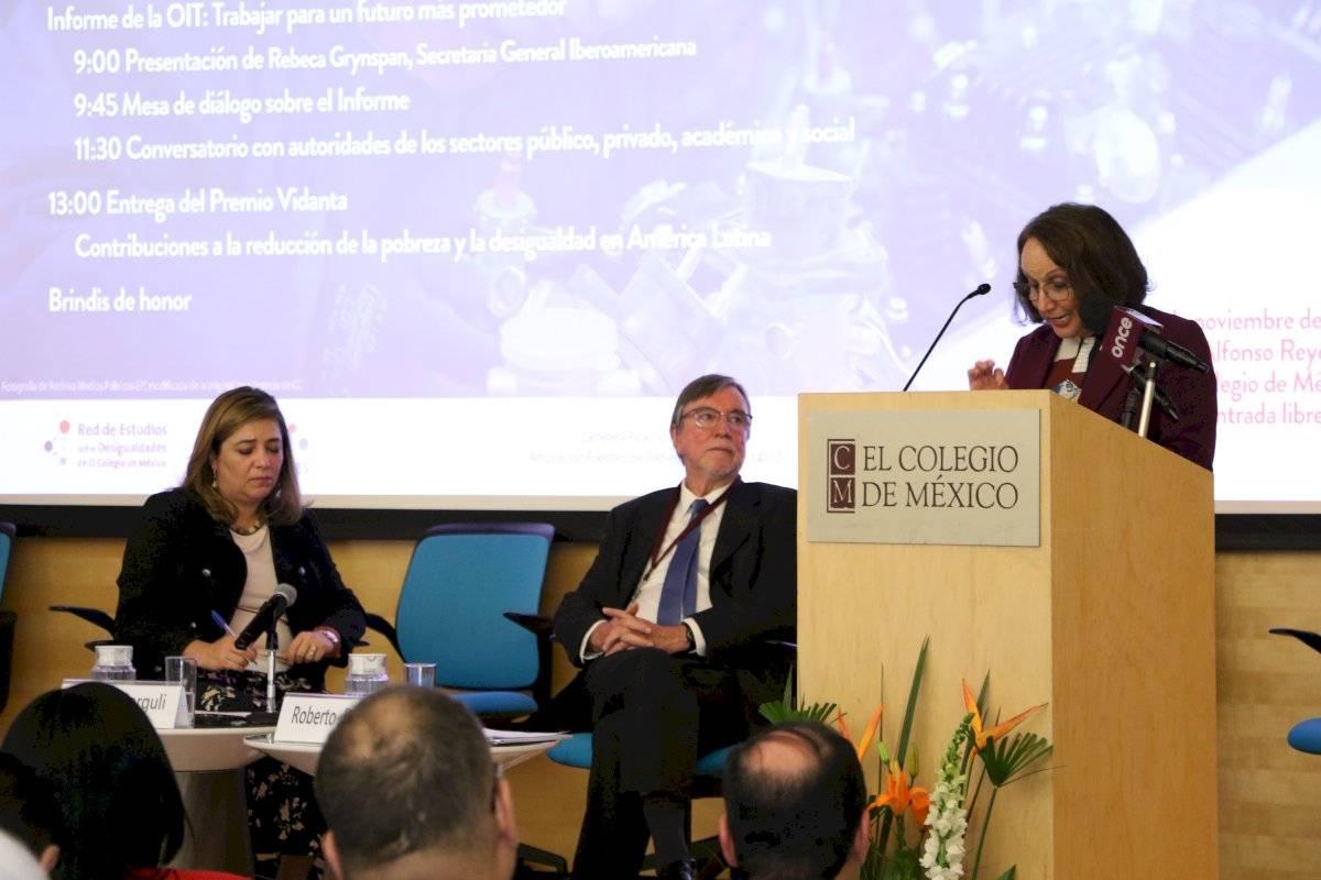 Presentan por primera vez en México el informe de la Organización Internacional del Trabajo Ángel Cruz