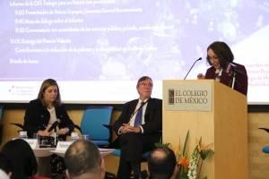 El Colegio de México presenta el informe de la OIT