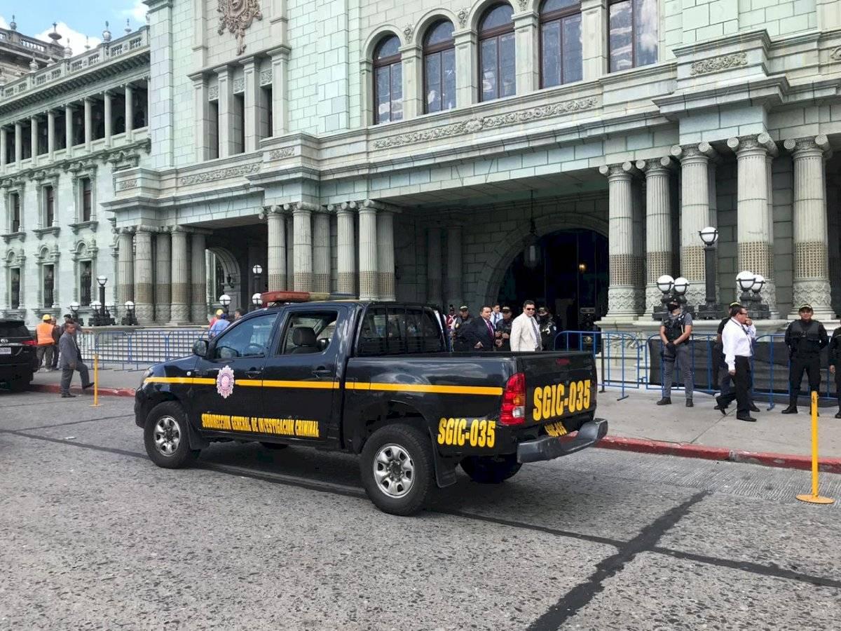 MP allana el Palacio Nacional de la Cultura. Foto: Emisoras Unidas
